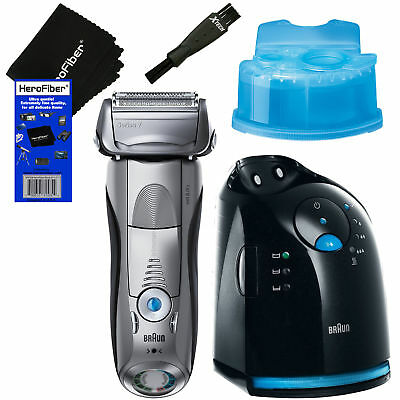 Braun Series 7 799cc-6 Wet & Dry shaver w/Clean&Charge Station +Cartridge +Brush