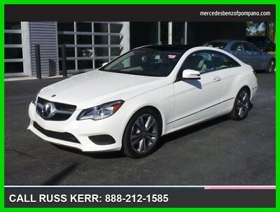2015 Mercedes-Benz E-Class E 400 2015 E 400 Used Turbo 3L V6 24V Automatic Rear Wheel Drive Coupe Moonroof