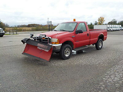2001 Ford F-250  2001 Ford F250 Plow Truck