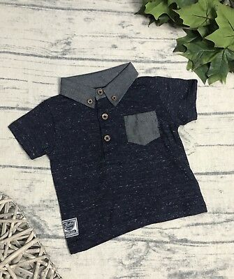 Early Days Baby Boy's Polo Shirt 6-9 Months 77% Cotton