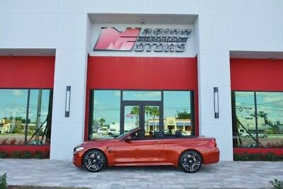 2016 BMW M4 Base Convertible 2-Door 2016 BMW M4 CONVERTIBLE - $91,170 MSRP - SIMPLY LOADED WITH OPTIONS - 1 OWNER