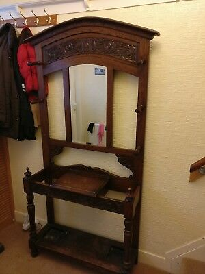 Antique Hall stand. Lovely