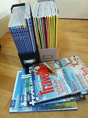Travel Magazines Lonely Planet, Wanderlust job lot. From June 2010 +