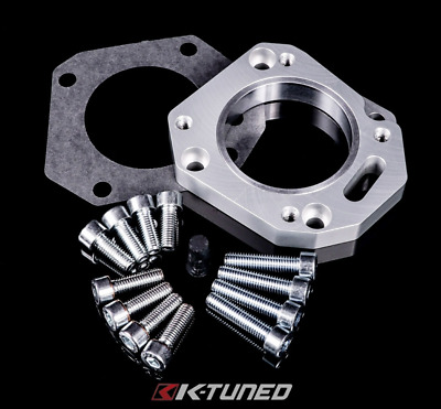 K Tuned RBC / RRC Dual Throttle Body Adapter (62/70mm, both sizes)