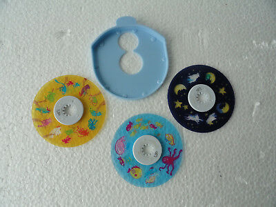 3 Homedics Replacement Discs Only From Model SS-3000 Sound Spa Lullaby