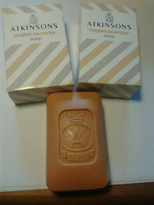 ATKINSONS ENGLISH LAVENDER SEIFE SINCE 1799 Vintage