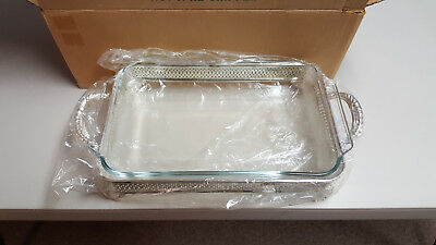Rogers Towle Hocking Silver Plated One Dish Serving Tray Used