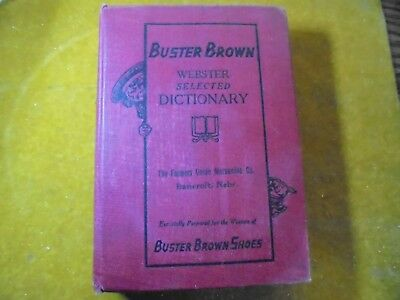 """1927 Edition Of """"buster Brown"""" Shoes Advertising Dictionary-Bancroft Nebraska"""