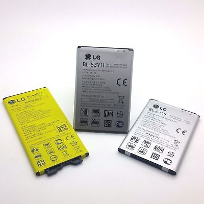 New Replacement Internal Battery For LG G3 3000mAh/ G4 3000mAh/ G5 2800mAh LOT