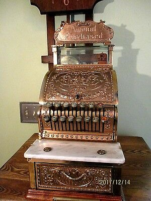 Antique National Cash Register # 313 Great Condition