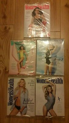New packaged Women's Health Magazines Fitness Diet Advice Healthy Eating x 5