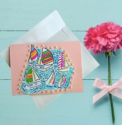 "10 5"" x 7"" LILLY PULITZER Assorted Note card Set"
