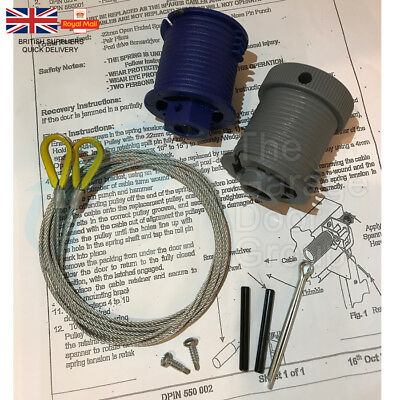 Cardale CD PRO Safelift Drums Garage Door Cables Wires Wickes Wessex B&Q Apex