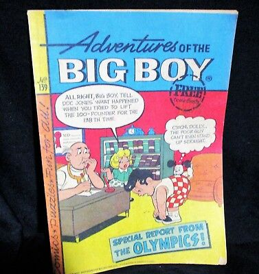 """Adventures of Big Boy""  #139 Comic Bk (Marriott)"