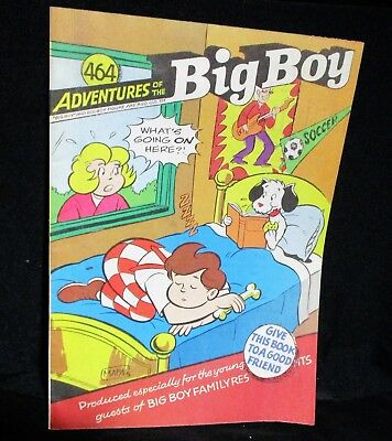 """Adventures of Big Boy""  #464 Comic Bk (  Marriott)"
