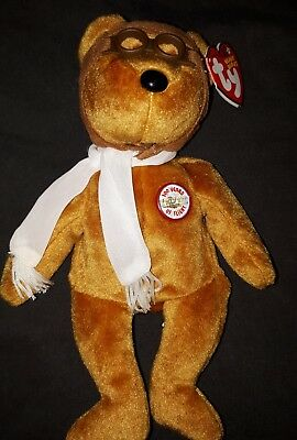 TY Beanie baby bear Bearon Brown bear