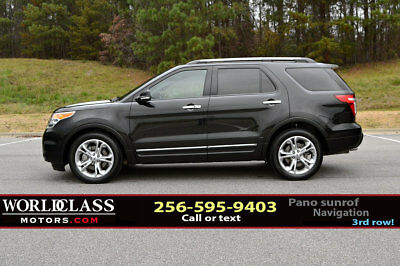 2015 Ford Explorer FWD 4dr Limited Loaded 2015 Ford Explorer Limited w/3rd row, panoramic sunroof, htd seats & nav!