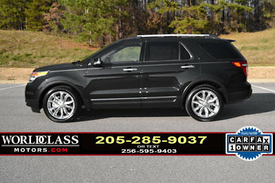 2015 Ford Explorer FWD 4dr XLT 1-Owner 2015 Ford Explorer XLT w/3rd row, panoramic sunroof, leather & nav!