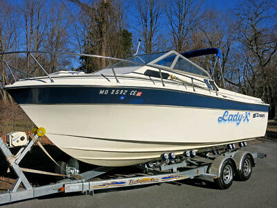 Cruisers 22ft Cuddy Cabin with NEW Trailer  Runs Great!