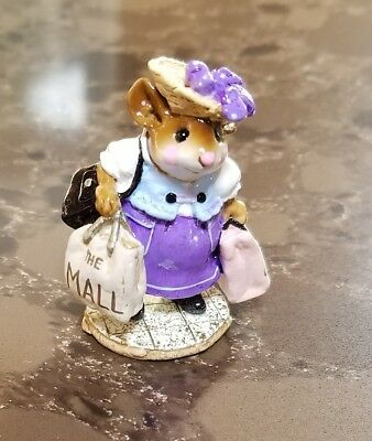 "Wee Forest Folk M-264 ""Mall Mom "" SPECIAL EDITION Lena's 2001 Mint"