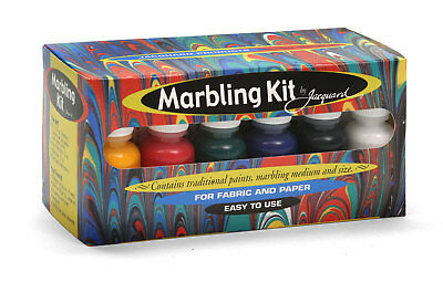 Jacquard Marbling Kit - For Fabric or Paper - Great Fun and Fantastic Results