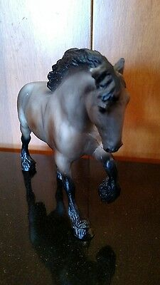 Breyer 3175 Action Drafters Big Small Paddock Pal Clydesdale Draft Horse