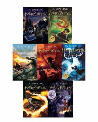 The Complete Harry Potter 7 Books Collection J.K Rowling Childrens Ed - NO BOX