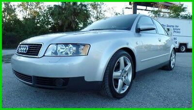 2002 Audi A4 1.8T TURBO ONLY 28K MILES NO RESERVE! 2002 AUDI A4 1.8T TURBO ONLY 28K MILES 1 OWNER FL IMMACULATE CARFAX NO RESERVE!
