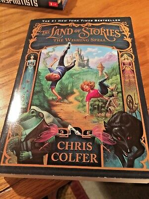 The Land of Stories The Wishing Spell by Chris Colfer The #1 NY Times Bestseller