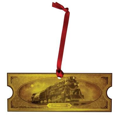 Lionel The Polar Express Locomotive Commemorative Golden Ticket