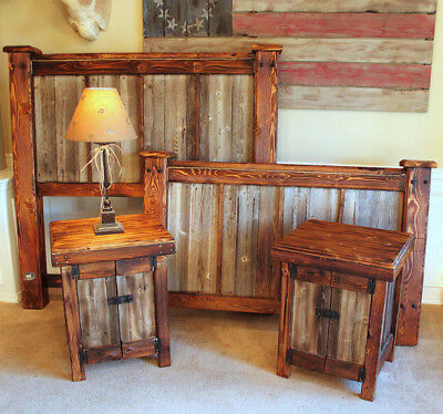 Lodge Style Nightstands