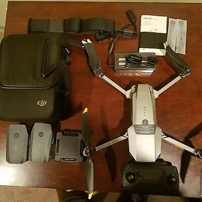 Mavic Platinum Pro with 2Extra batteriesAnd more.