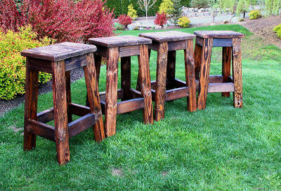 Rustic Farmhouse Stool