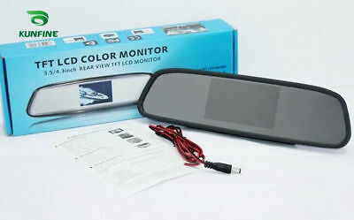 Styling 4.3'' Car Rear View Mirror Car Monitor  Display for Rearview Reverse Cam