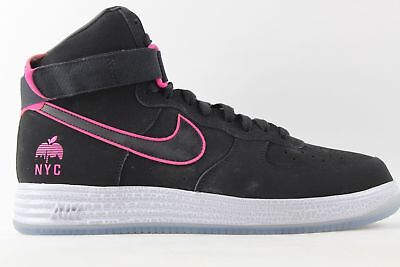 finest selection 35544 c99ee Nike Lunar Force 1 HYP HI QS NYC PINK FOIL sz 13 DS 624184 001