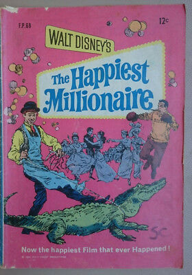 Walt Disney's The Happiest Millionaire FP.68 1969 Australian comic book