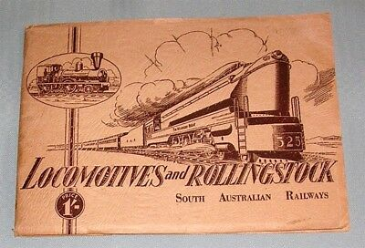 SAR Locomotives & Rolling Stock, 1946?, SC book