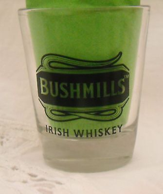 Bushmills & Baileys Irish Whiskey Shot Glass 2 oz shots Check out the two sides