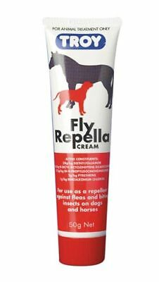 Troy Fly Repella Insect & Fly Repellent Cream 100G For Horses & Dogs