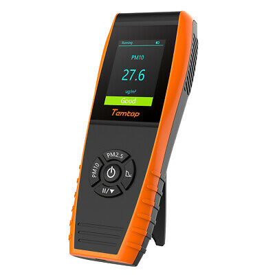 P600 Air Quality Monitor Tester Particle Detector PM2.5 PM10 Recorder Histogram