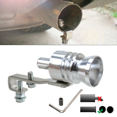 Car Spare Turbo Sound Muffler Exhaust Pipe Blow Vale BOV Simulator Whistle Tool