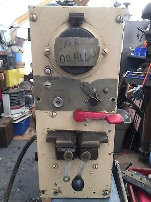 DoALL model 12A Welder 230 volt Single Phase