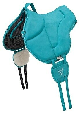 Barefoot Ride-on-Pad Physio Color PETROL Bareback-Pad- top - Horse & Hound Celle
