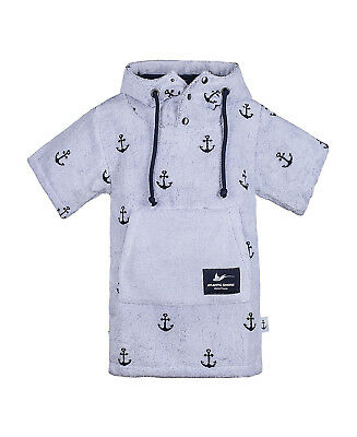 Atlantic Shore | Surf Poncho ➤ Bademantel / Umziehhilfe ➤ für Kids ➤ Anchor