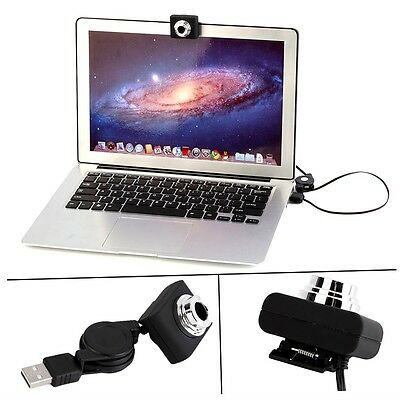 USB 30M Mega Pixel Webcam Video Camera Web Cam For PC Laptop Notebook Clip Oo