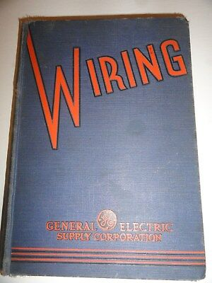 Antique G.E. General Electric GE37W Supply Catalog Fan Plug Light Bulb Wire Cage