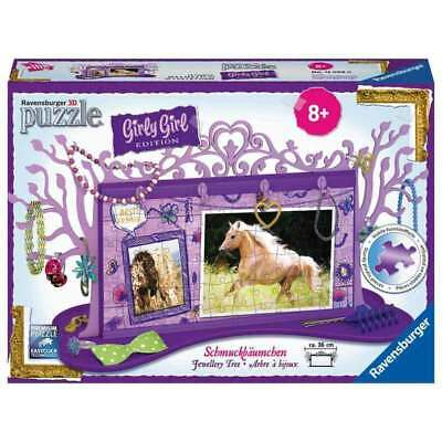 NEW Ravensburger Horse Jewellery Tree 3D - 108 piece from Purple Turtle Toys