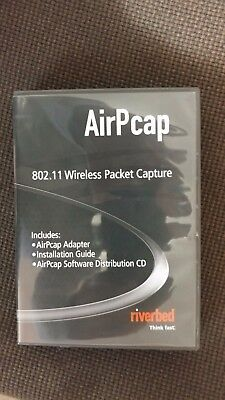 Riverbed AirPcap NX 802.11 Wireless Packet Capture Adapter CAS-APC-NX