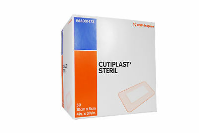 Cutiplast Steril | 10cm x 8cm | Wundverband | Smith & Nephew | 50 Stück