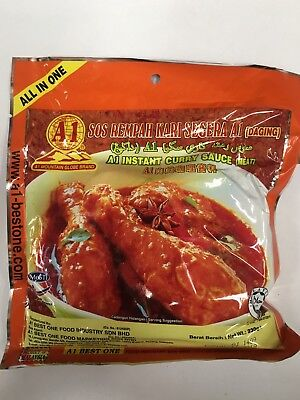 12 Pack A1 Mountain Globe Brand - Instant Curry Sauce (Meat) -230gmx12